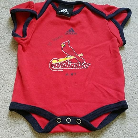 adidas Other - Adidas 0/3 mo. St. Louis Cardinals onesie